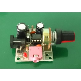 Super Mini Amplifier LM386 DIY Kit