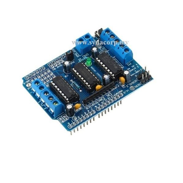 Arduino Motor Control Shield L293d