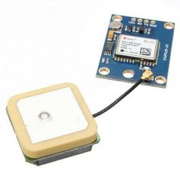 Arduino GY-NEO6MV2 GPS Module c/w Antenna & Flight Control EEPROM