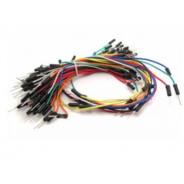 Male to Male Jumper Wire for Breadboard (65pcs)