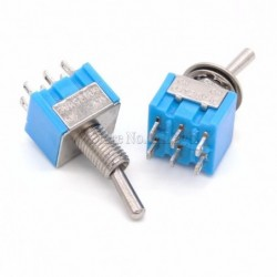 6 pins DPDT Toggle Switch