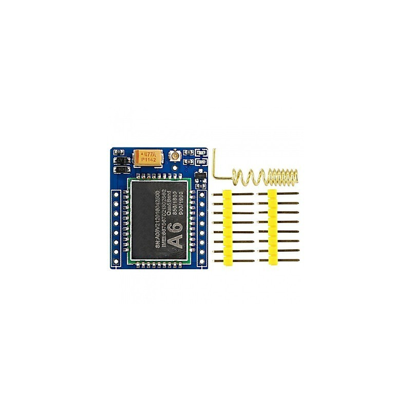 Arduino Wireless A6 Mini Serial GPRS GSM Module