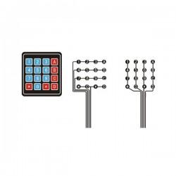 4X4 Matrix Array Membrane Keypad for Arduino / STM / Raspberry Pii