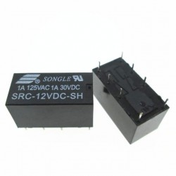 Songle DPDT Relay SRC