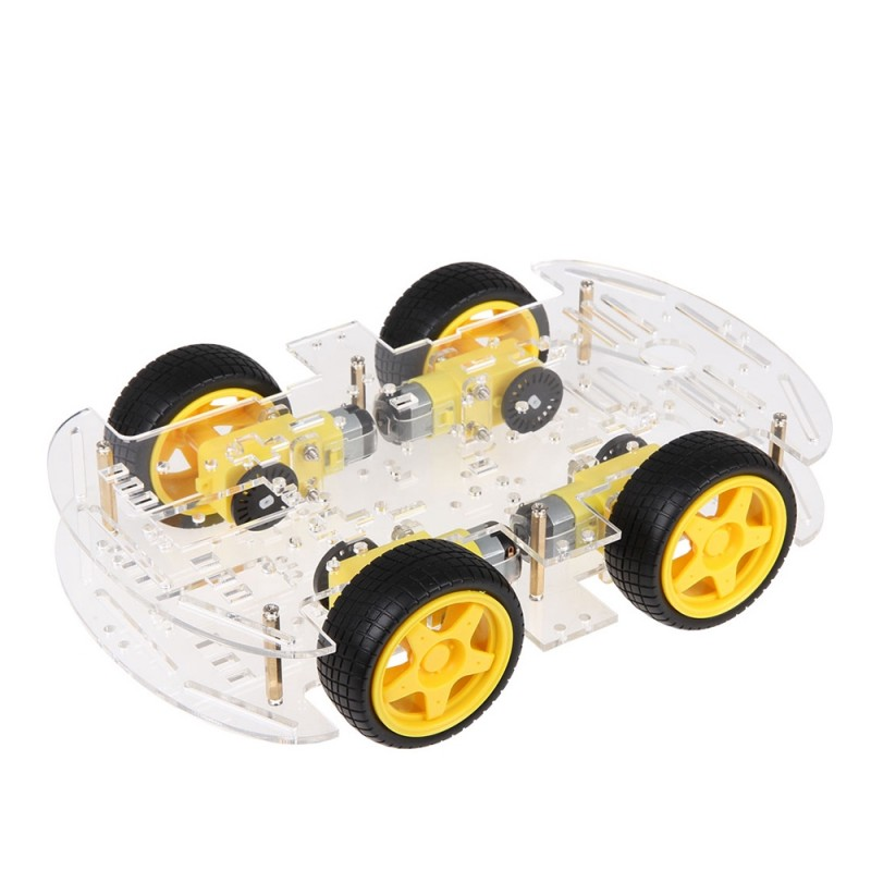 Arduino 4WD 2-Layer Smart Robot Car Chassis Kit (V3)