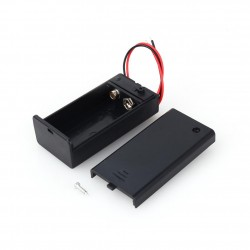 9V Battery Holder c/w Cover...
