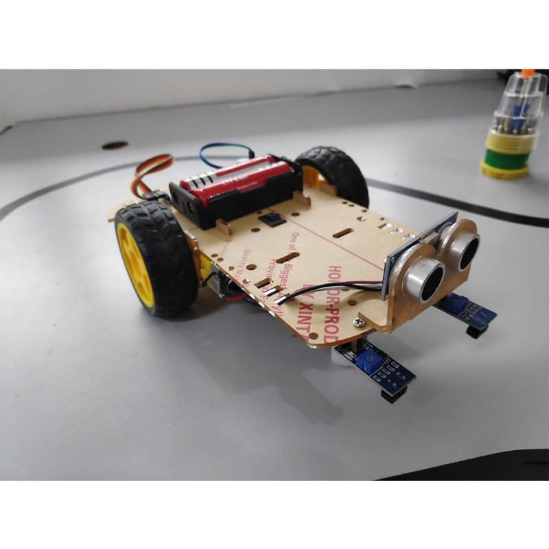 Arduino Smart Mobile Robot - Bluetooth, Line Tracking & Obstacle Avoidance