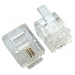 RJ11 Modular Telephone Plug...