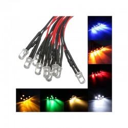 5mm LED 12V Pre-wired 200mm