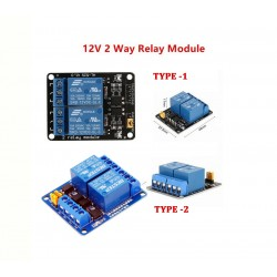 2-Channel 12V Relay Module