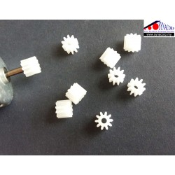 10-Teeth Gear for DC Motor
