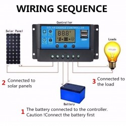 10A Solar Charge Controller...
