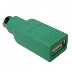 PS2 (M) to USB (F) Adapter