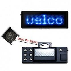 LED Name Tag Badge Display...