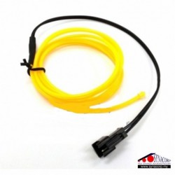 EL Wire - Yellow 1m