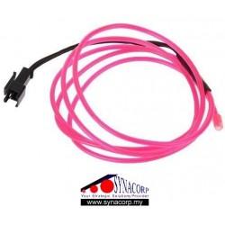 EL Wire - Pink 1m