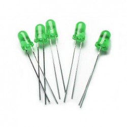 Green / 5mm LED Normal...