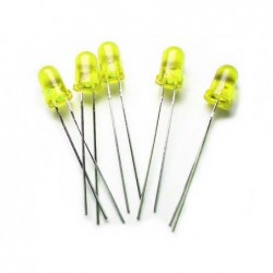 Yellow / 5mm LED Normal...